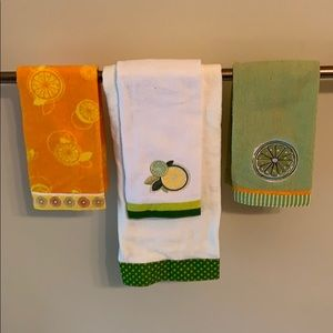 Other - Lemon/Lime Bath Towel Bundle